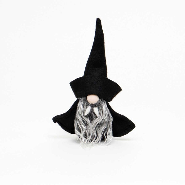"VLAD DRACULA GNOME WITH BLACK HAT AND CAPE SMALL 2.25""X8.5"""
