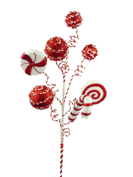 Glitter Mix Peppermint Cake Pop Spray