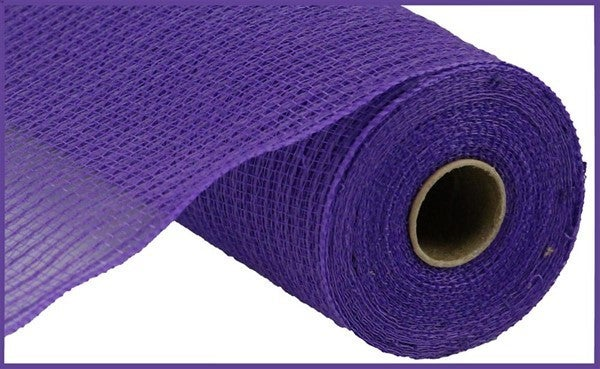 "10.5""X10yd Faux Jute/Pp Stripe Purple"