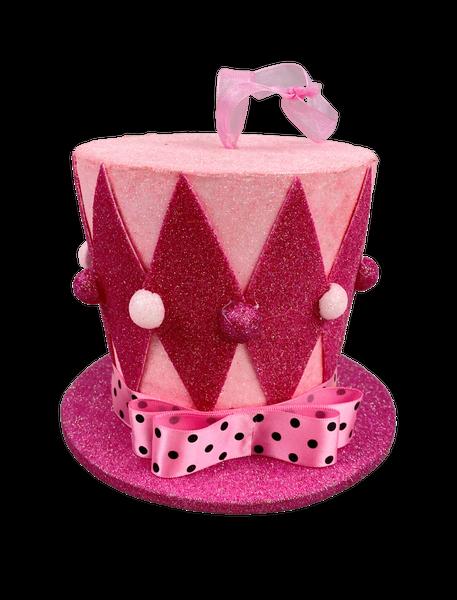 Harlequin Top Hat Dia6Xh5 Pink