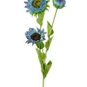 Sunflower Spray X 3 H26 Blue
