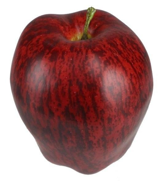 "3.5""L Delicious Apple red Pack of 6"