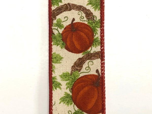 "Canvas/Pumpkins-Grapevine Wreath 1.5""x10yd"