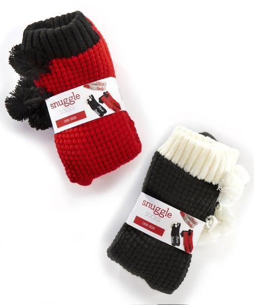 Polyester Snuggle Socks