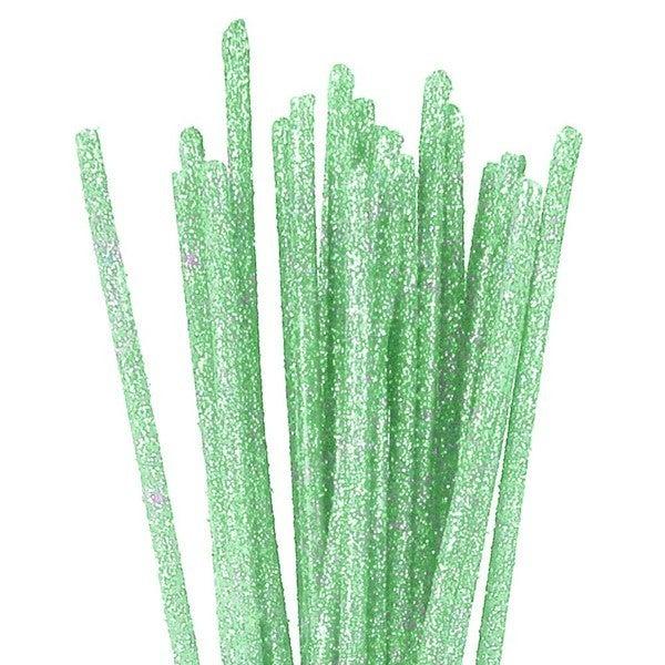 3'X 4Mm Glitzy Sticks Sea Foam Green