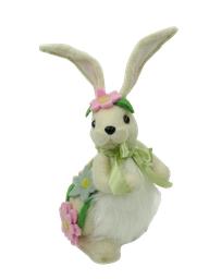Standing Bunny Daisy D8xW7xH14 White