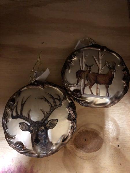 Deer Ornament Set