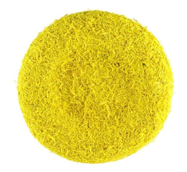 "8.75""DIA FLOWER CENTER Yellow"