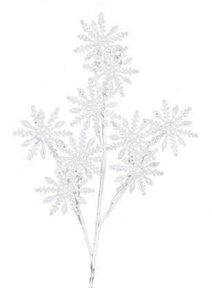 "23"" Snowflake Spray"