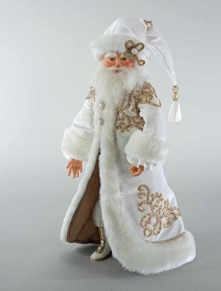 "Thread Of Gold Santa Doll-18"""