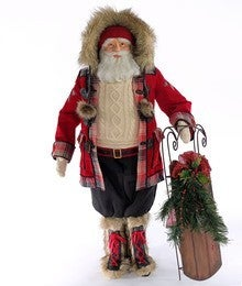 Aspen Santa Doll-36 Inch
