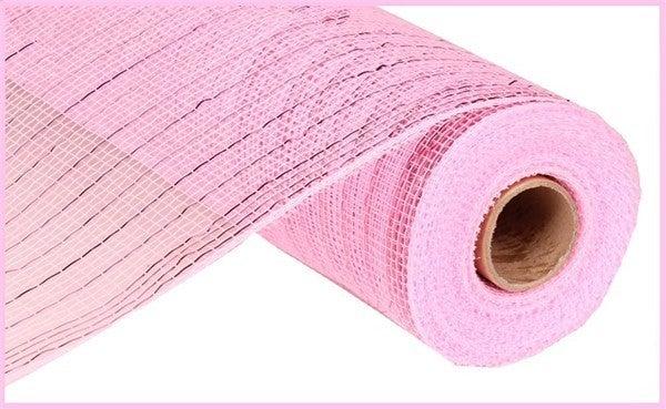 """10.25""""X10YD METALLIC MESH Pink"""
