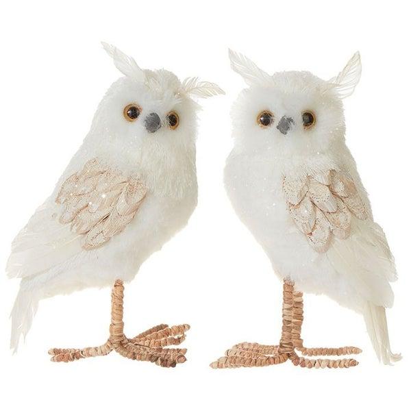 """6.5\"""" OWL (Glittered)"""