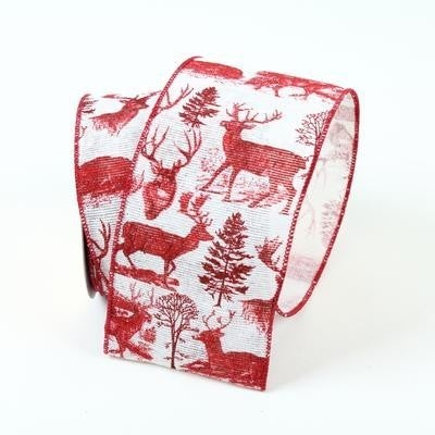 "REINDEER  2.5"" X 10YD / RED"