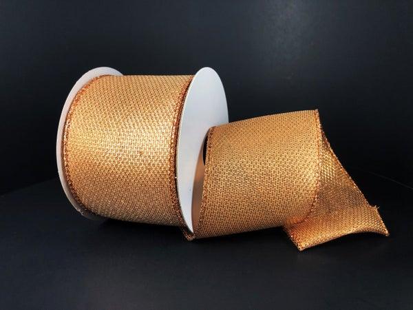"""Light Copper Galaxy Metallic 2.5""""x10yd"""