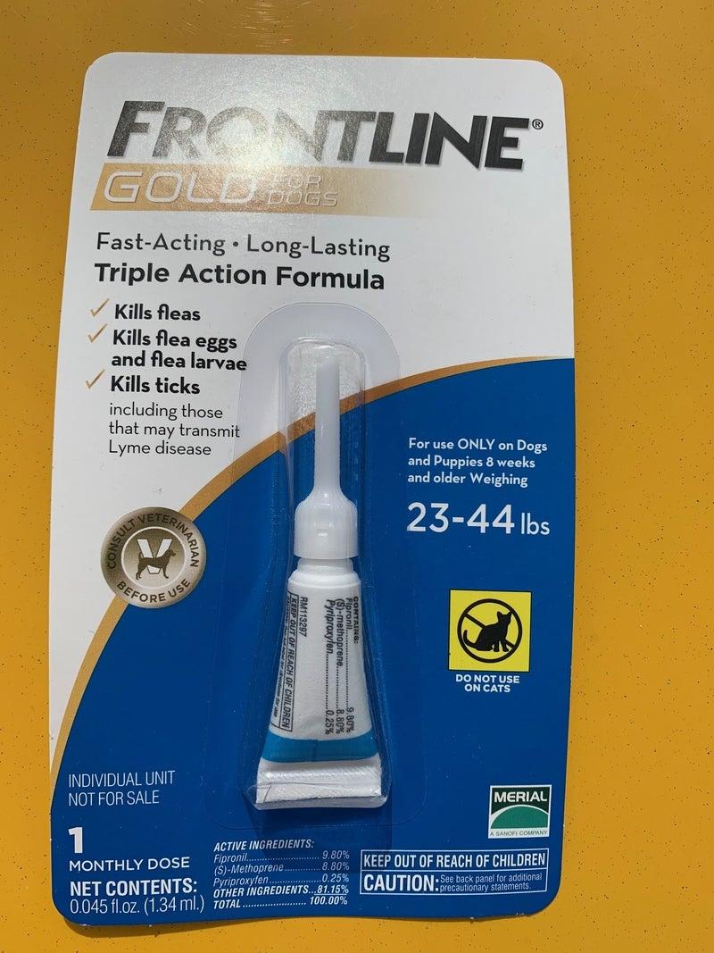 Dog Frontline 23-44 1 month dose