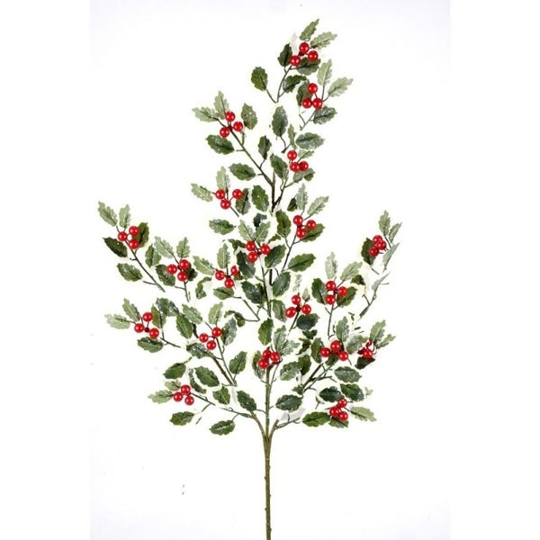FOSTERI HOLLY SPRAY Red/Green/White