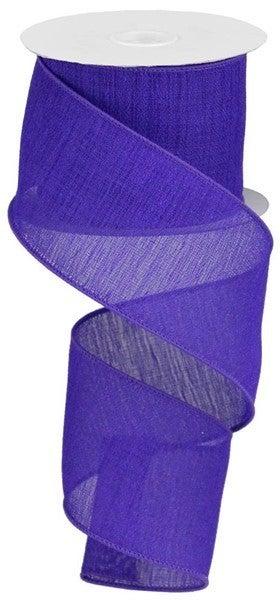 """2.5""""X10yd Gauze Purple"""
