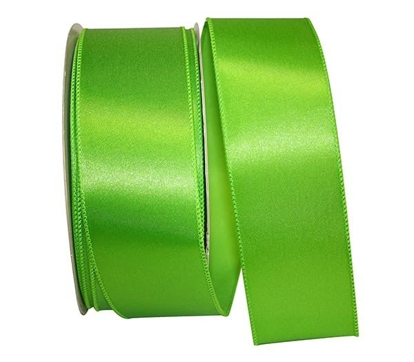 VS 6-40 - Satin Value Wired Edge, Citrus, 2-1/2 Inch, 50 Yards