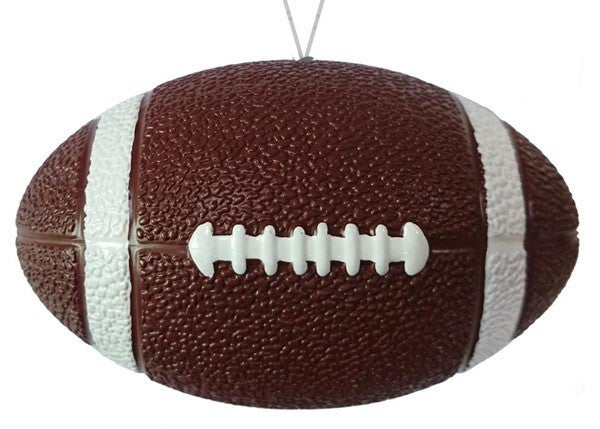"""4.75""""L Painted Football W/Hanger"""