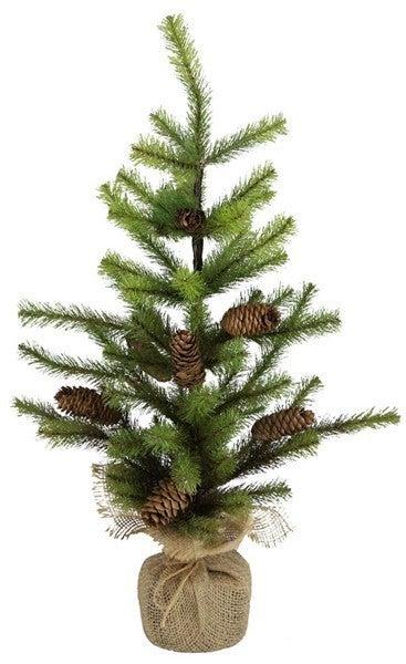 "24""H Allegheny Pine Flat Tree"
