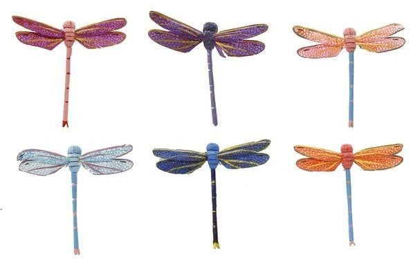 "2.25""W Dragonfly On 10""Wire"
