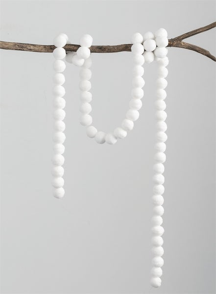 MINI SNOWBALL GARLAND