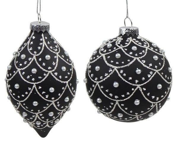 100Mm Glass Ball/Onion Ornament