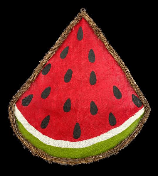 Twig Watermelon Slice Form W22xH25