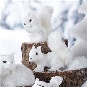 White Squirrel set of 2