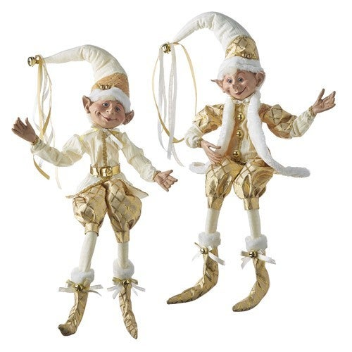 """Oh Holy Night 30"""" POSABLE ELF"""