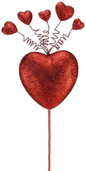 """27.5""""L Heart Pick"""