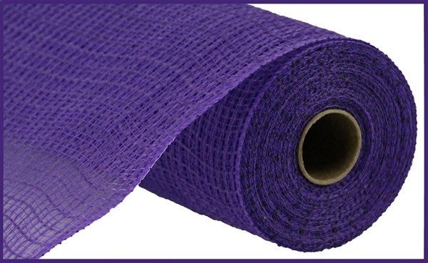 "10.5""X10yd Faux Jute/Pp Check Purple"