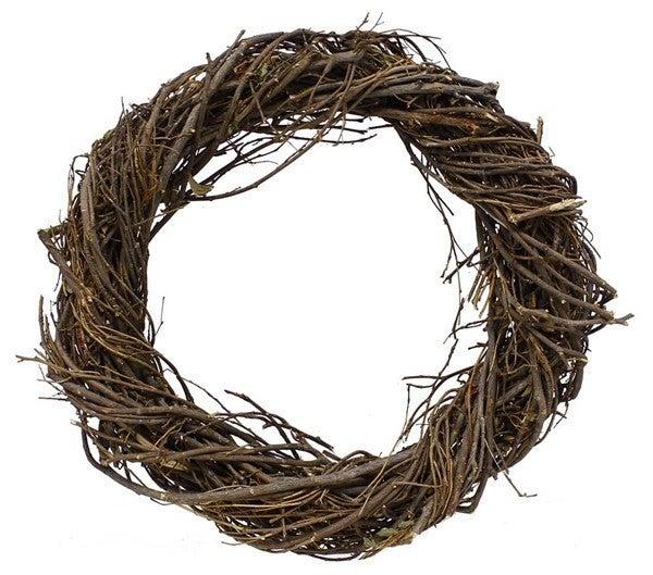 "19.75""Dia Twig Woven Wreath"