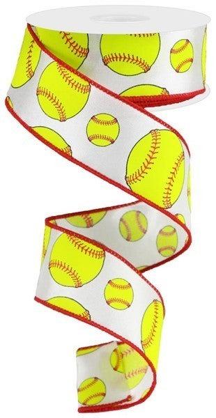 """1.5""""X10yd Softball"""
