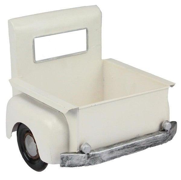"""7.25""""L X 6.75""""H Truck Bed Planter Antique White"""