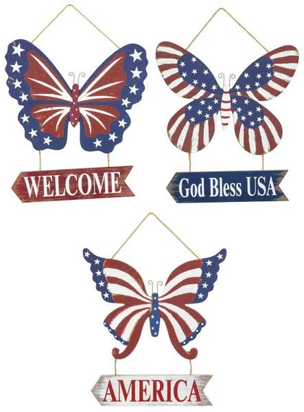 Usa Butterfly Hanger