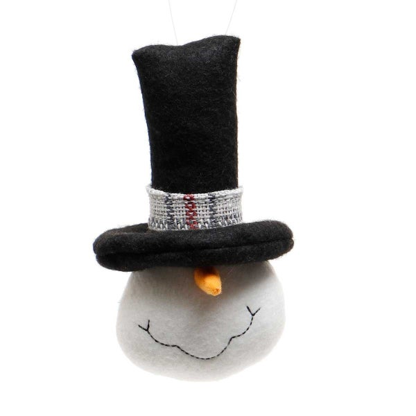 FROSTY SNOME HEAD WITH BLACK Small