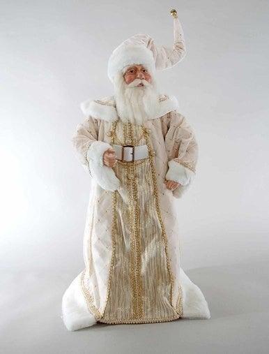 "Cream Santa Doll-26"""