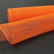 "Orange Fabric Mesh 10""x10yd"