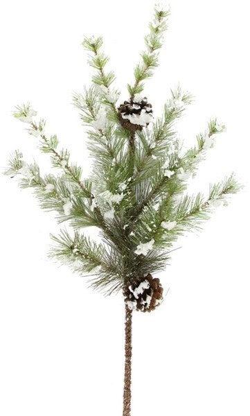 "24"" Snowdrop Mountain Pine/Pinecone Pick"