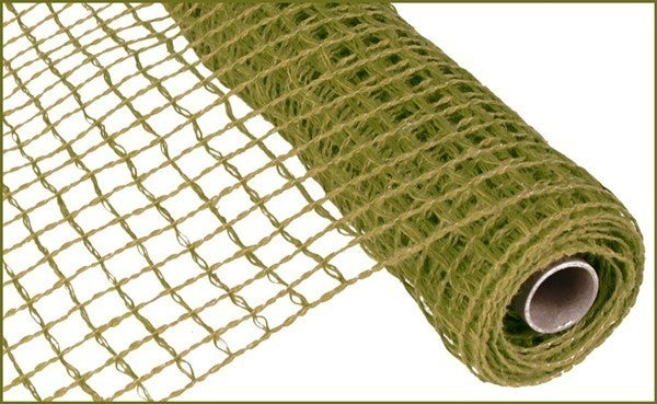 "20""X5yd Jute Netting Fern Green"