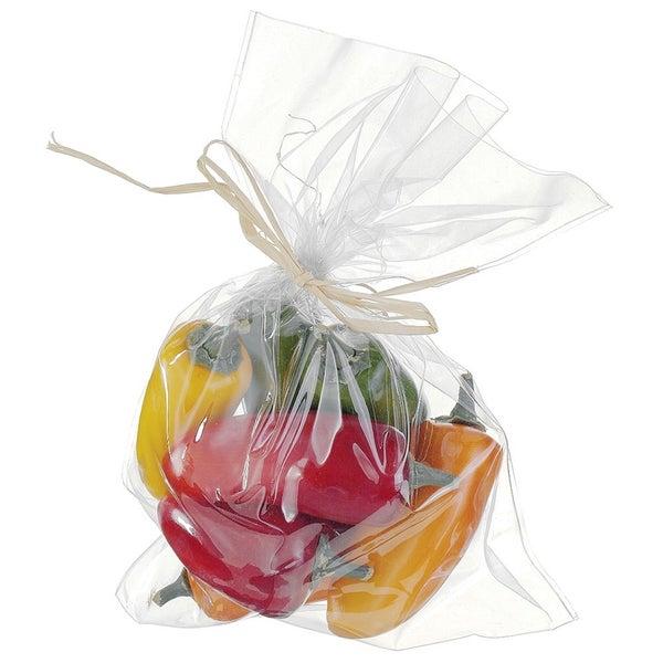 "9""Hx7""W Peppers Assortment in Bag (8 ea/bag) Mixed"