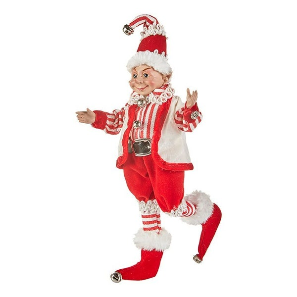 """12\"""" POSABLE ELF Reindeer"""