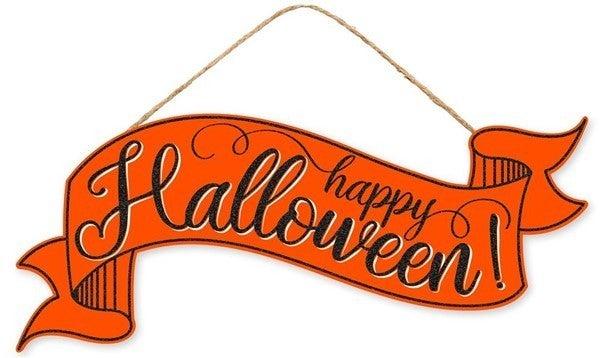 "15""L X 6.25""H Halloween Banner"