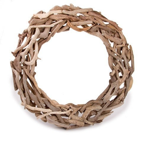 Darice® Driftwood Wreath - Natural - 18 Inches