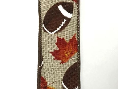 "Lt Nat Linen/Football-Fall 1.5""x10yd"