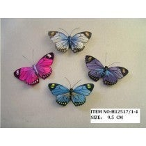 """BUTTERFLY MULTI-COLOR 3.25"""""""