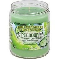 Pet Odor Exterminator Cool Cucumber & Honeydew Candle, 13-oz jar