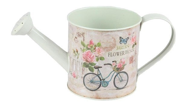 "10""L X 4.5""H Watering Can Bike"